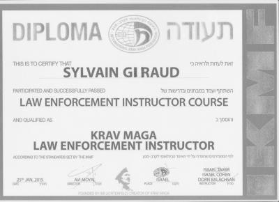 Cic instructor police